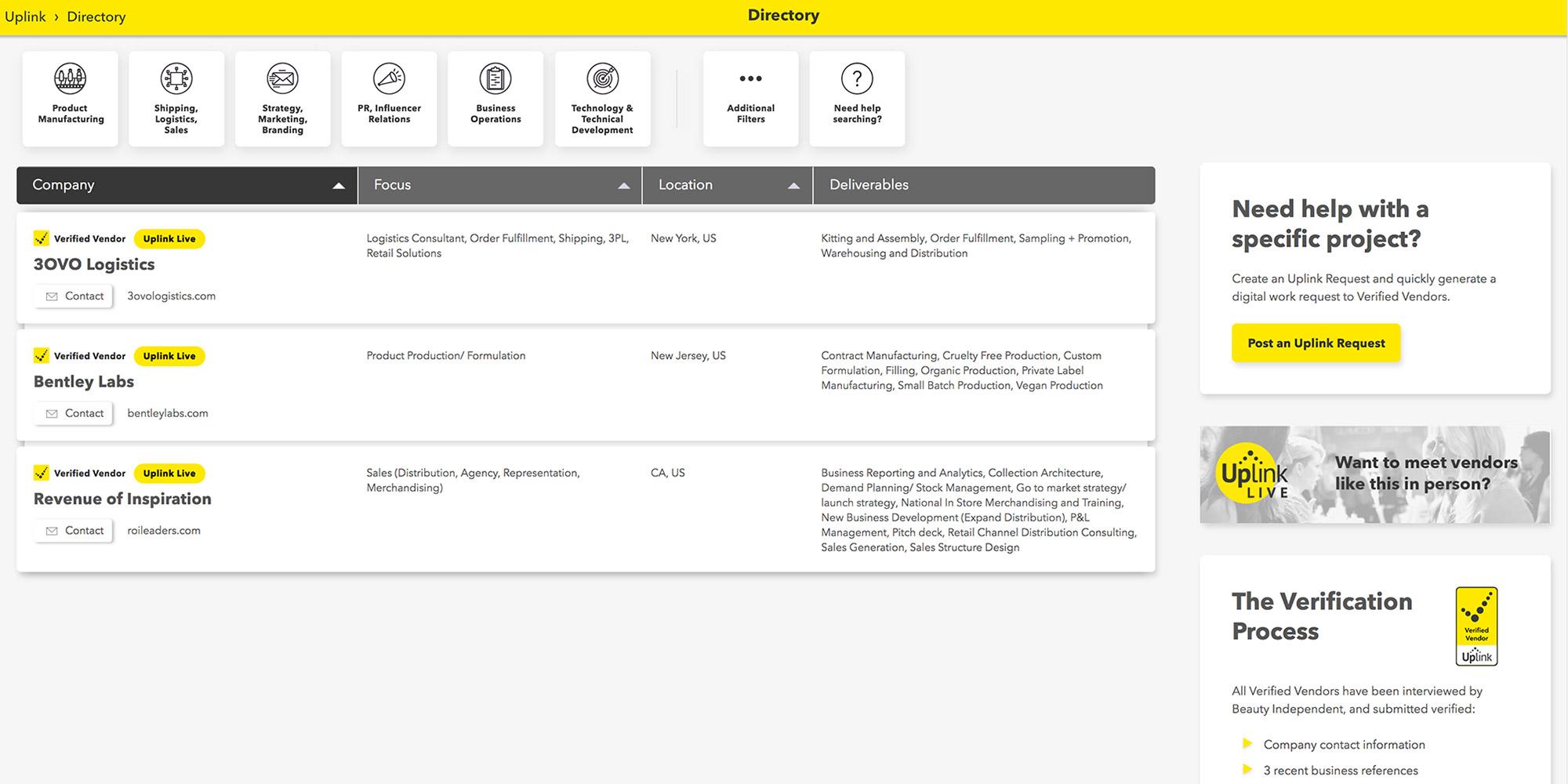 Tutorial: Directory