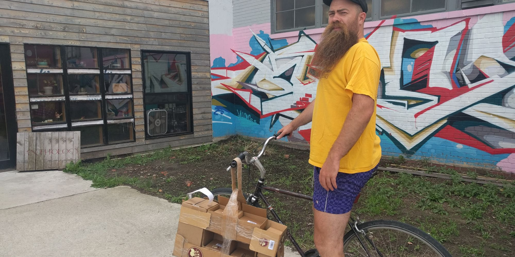 Beard Balm Founder Delivers The Goods And Builds Sales By Bike