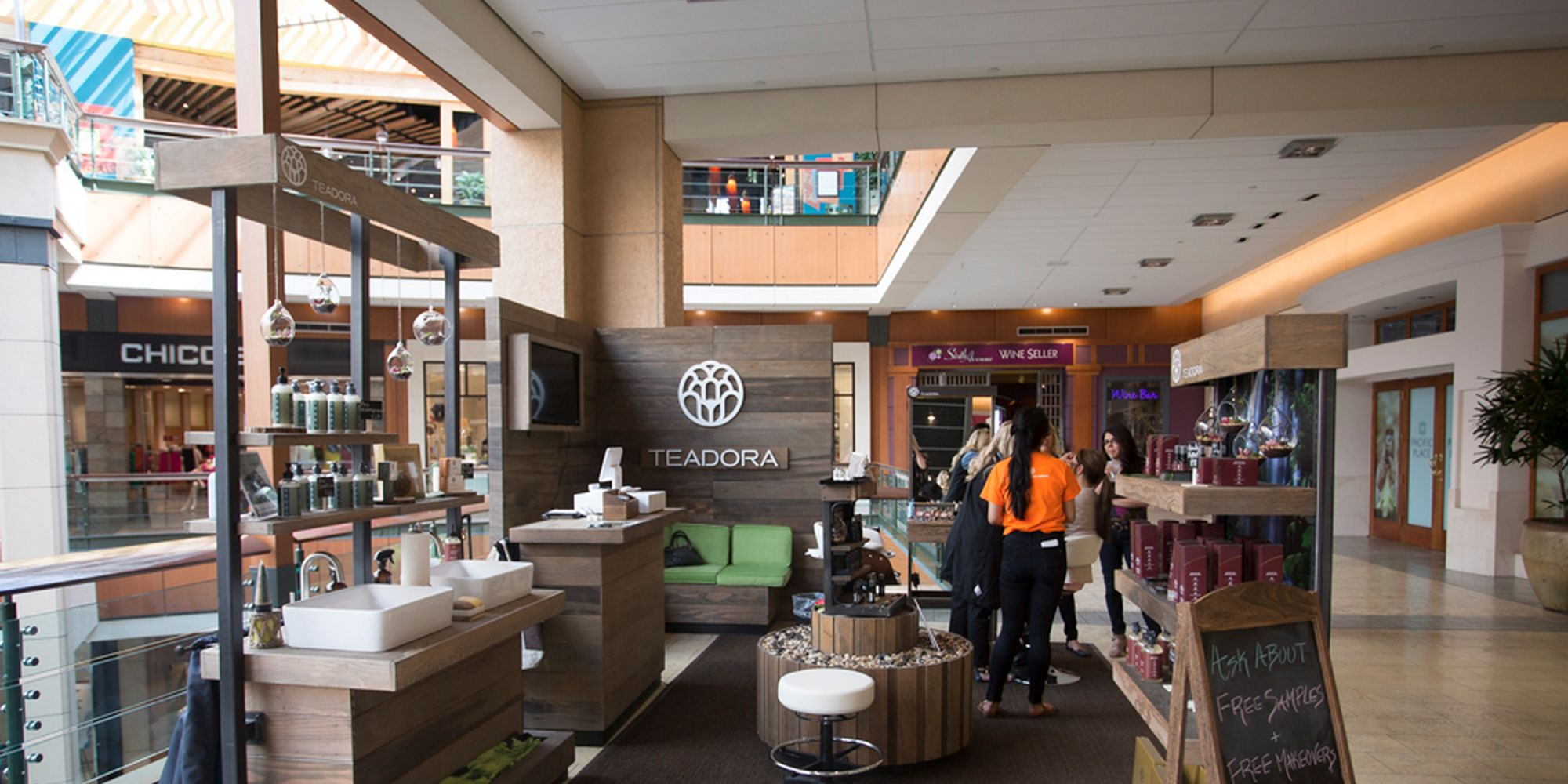 Teadora Adds A Touch Of Brazil To Seattle's Pacific Place