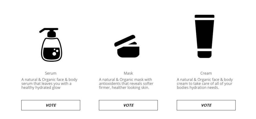 Evio voting