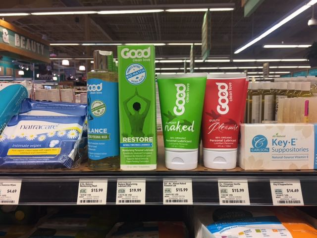 sexual health products Good Clean Love