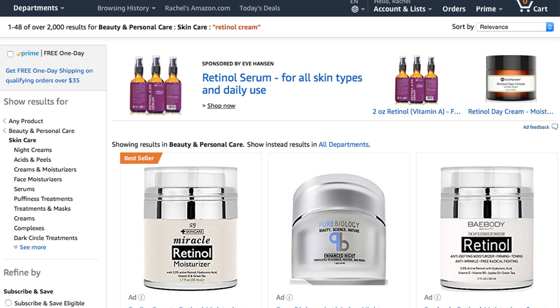 Amazon And The Onslaught Of Egoless Beauty Brands