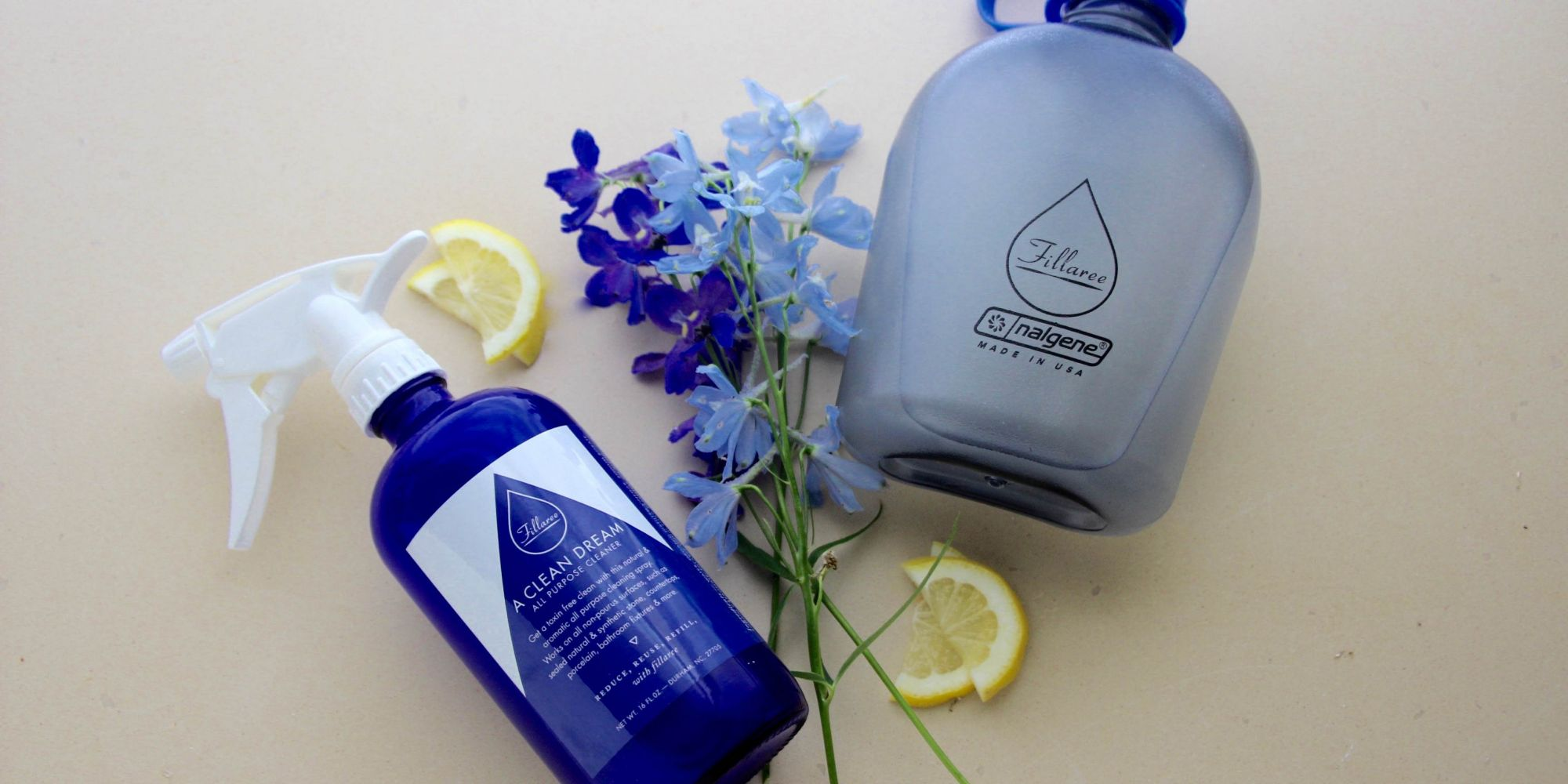 Fillaree Advocates For The Use And Reuse Of Beauty Packaging With Refillable Bottles