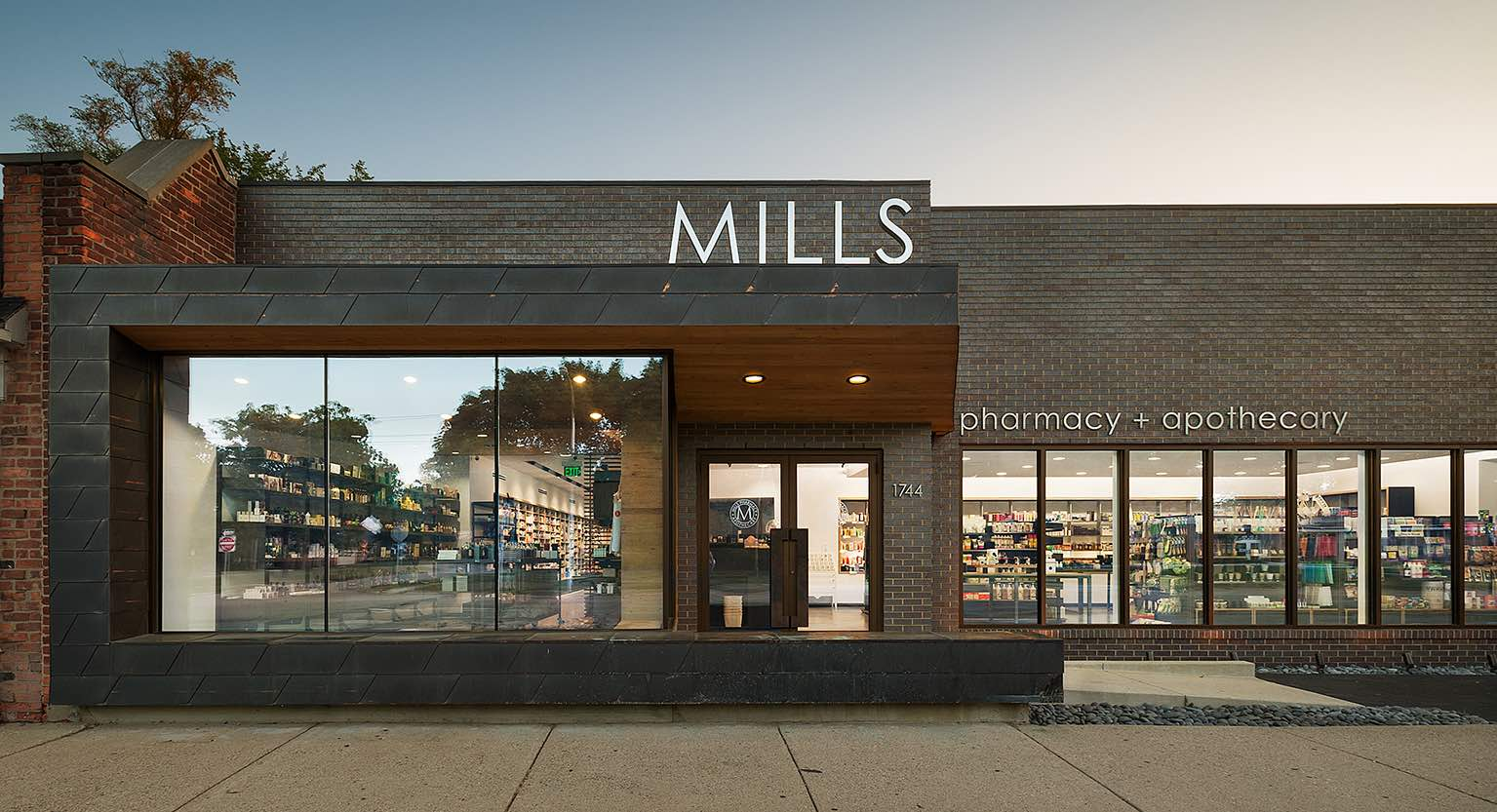 Mills Pharmacy + Apothecary Transports European Pharmacy Sophistication And Upscale Skincare To The Midwest