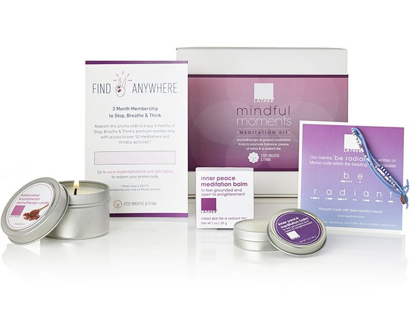 Lather holiday gift sets