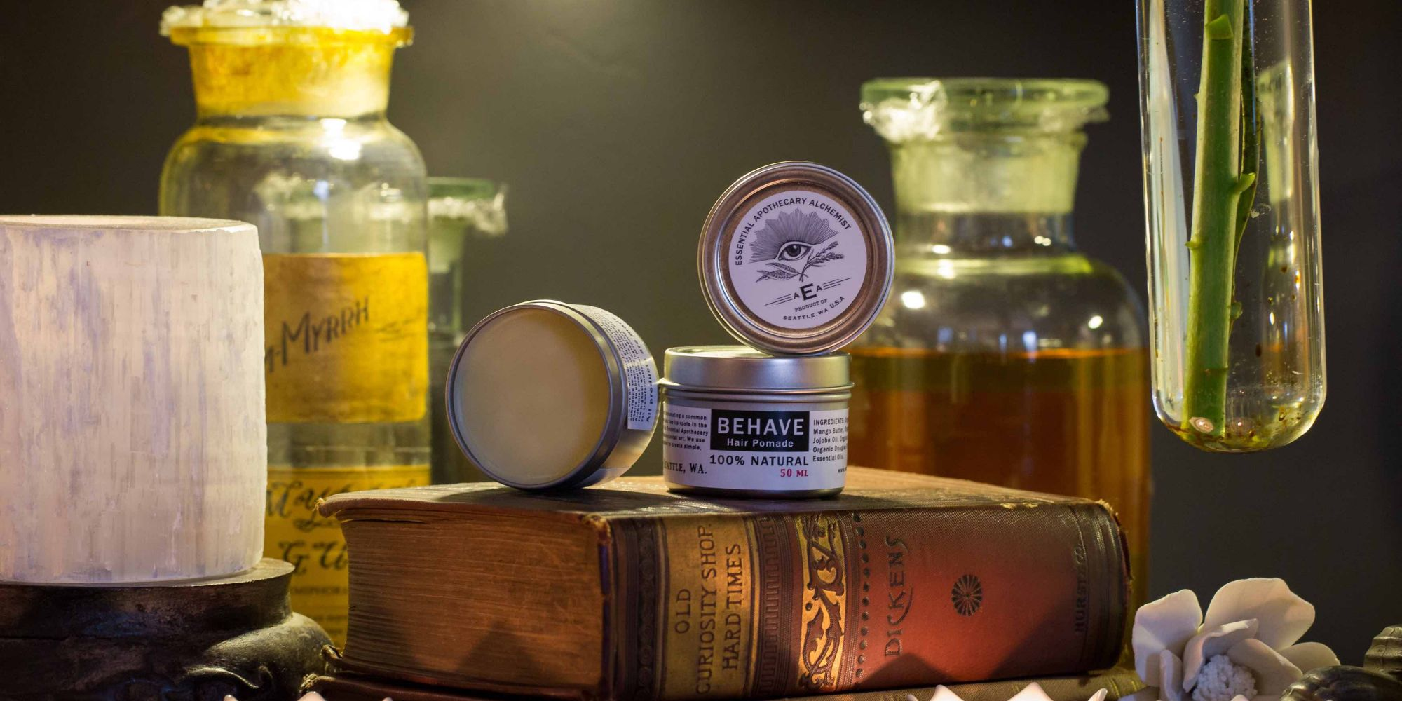 Essential Apothecary Alchemist Showcases Carefully Crafted Products In A Small Seattle Shop