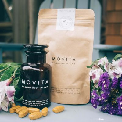 Movita Makes Multivitamins Look Good With Updated And Upscale Packaging