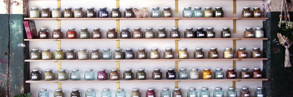 Anima Mundi herb jars