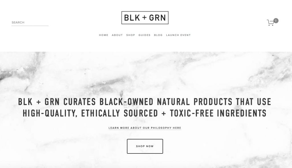 BLK + GRN