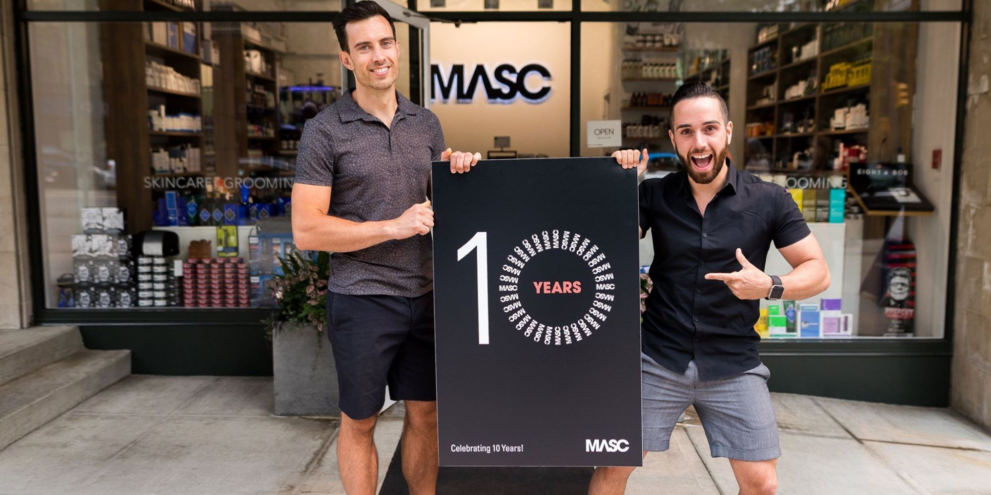 Men's Skincare And Grooming Specialist MASC Gives Guys The Attention And Credit They Deserve