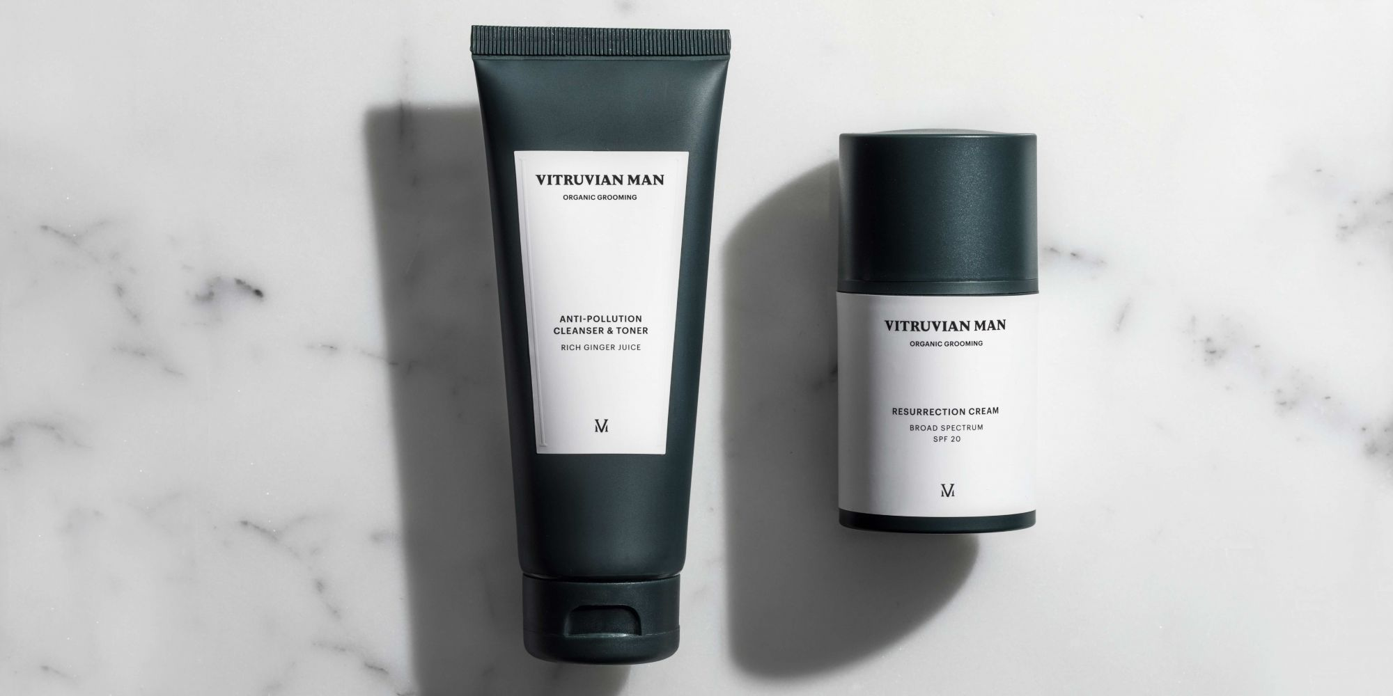 Sophistication In Simplicity: Vitruvian Man Elevates Men's Morning Routines With Two Products