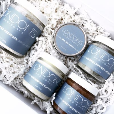 London's Pedisoaks Has Upped Its Game With New Upscale Packaging