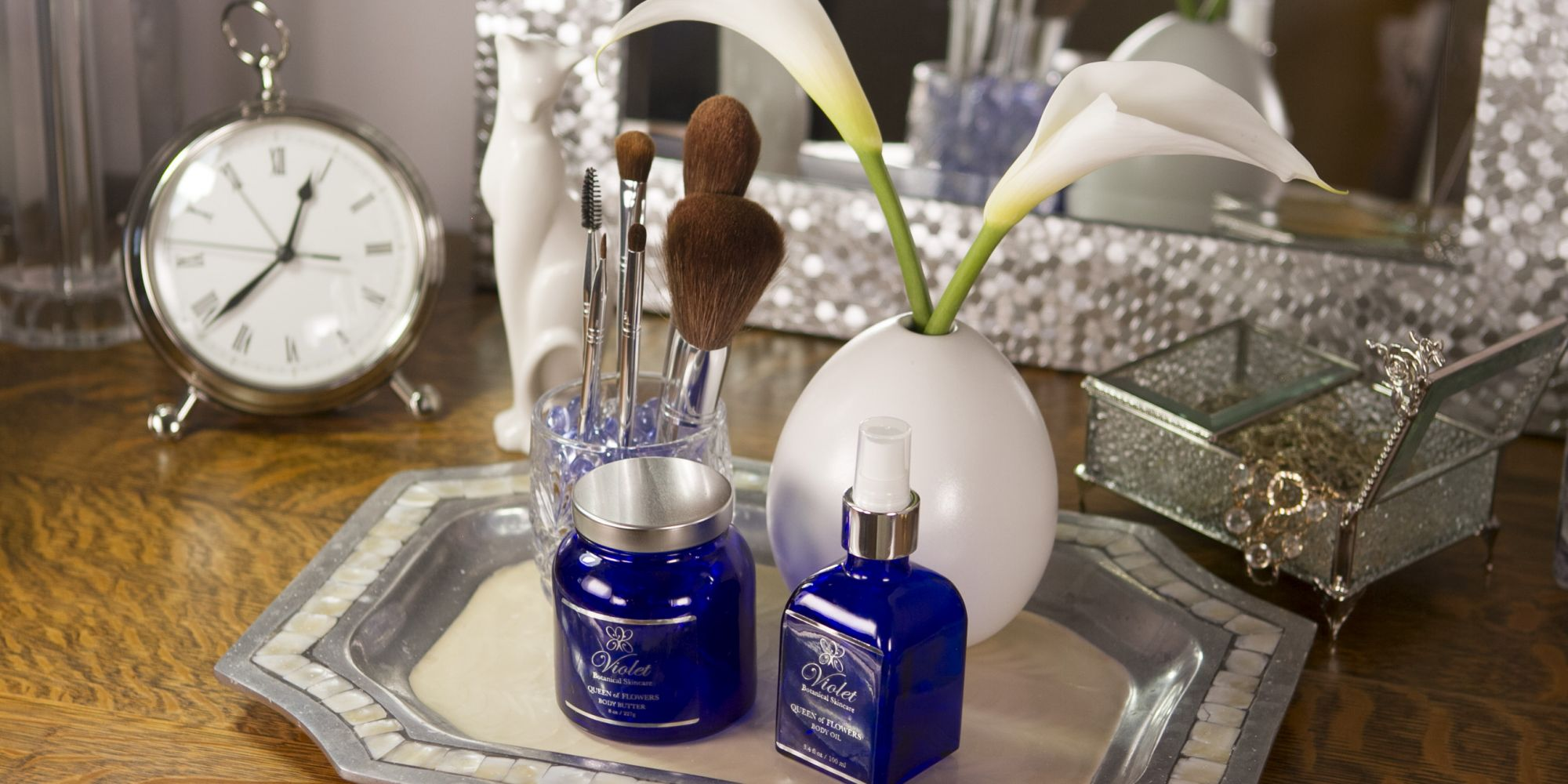 Violet Botanical Skincare Harkens Back To Ancient Times To Ready Products For The Present And Future