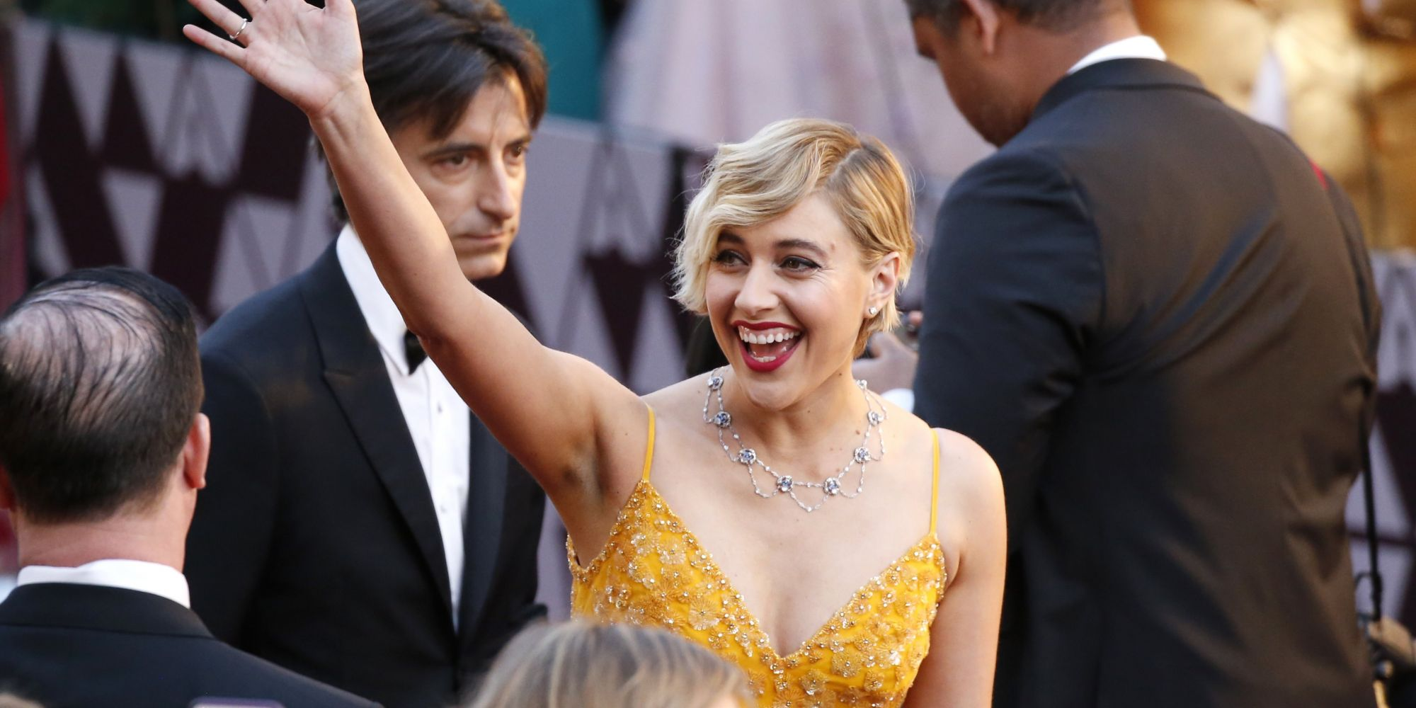 This Indie Beauty Brand Attended The Oscars On The Fingers Of Greta Gerwig