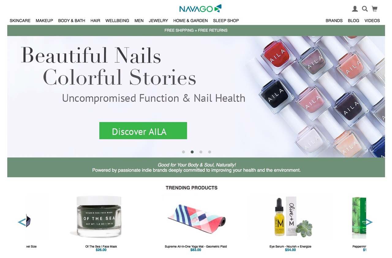 E-Commerce Site Navago Aims To Be Indie Beauty's Marketing Megaphone