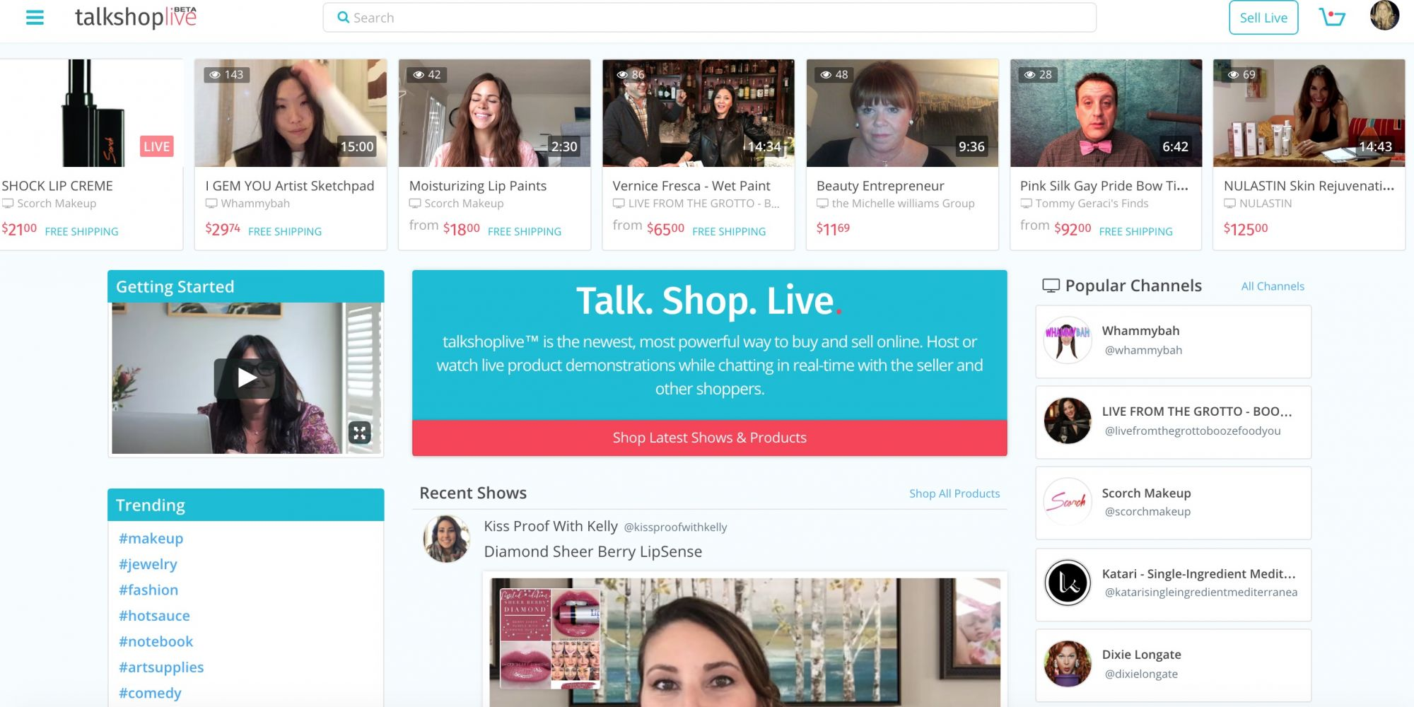 Talkshoplive Levels The Video Commerce Playing Field For Small Brands