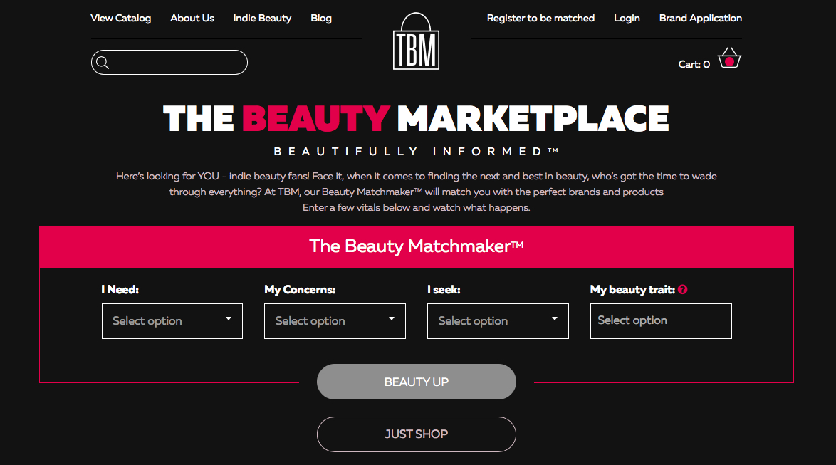 The Beauty Marketplace Steps In When Picking A Product From An Indie Brand Gets Tough