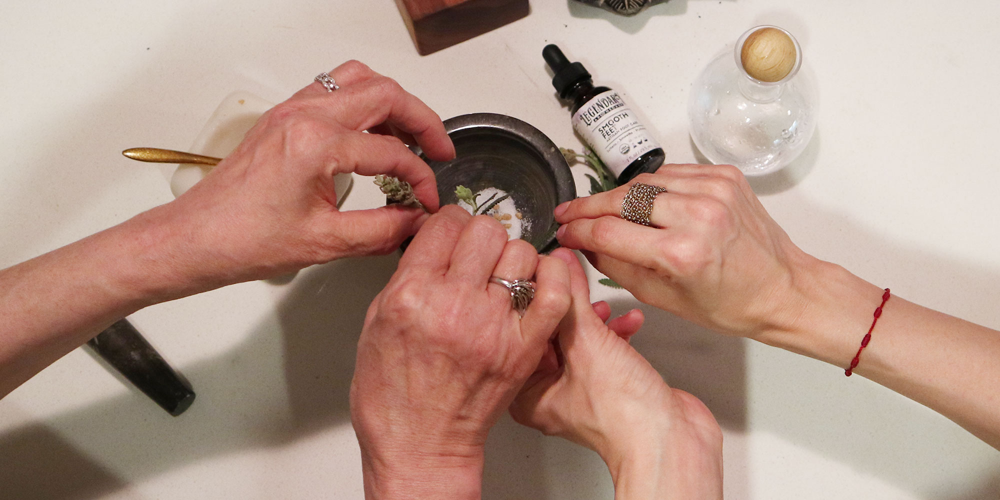 Legendary Apothecary Looks Back In Time To Develop An Organic Foot Treatment For Customers Today