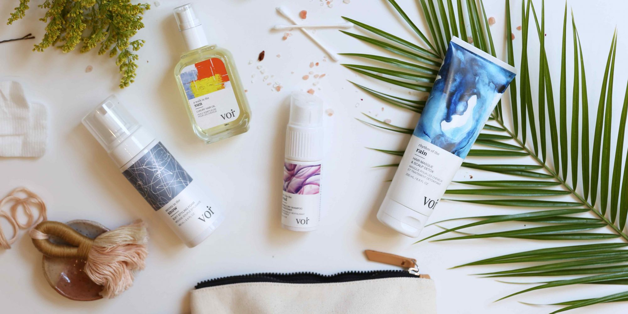 Canada-U.S. Beauty Relations Are Getting A Lot Cooler With Voir Haircare's Launch At Free People