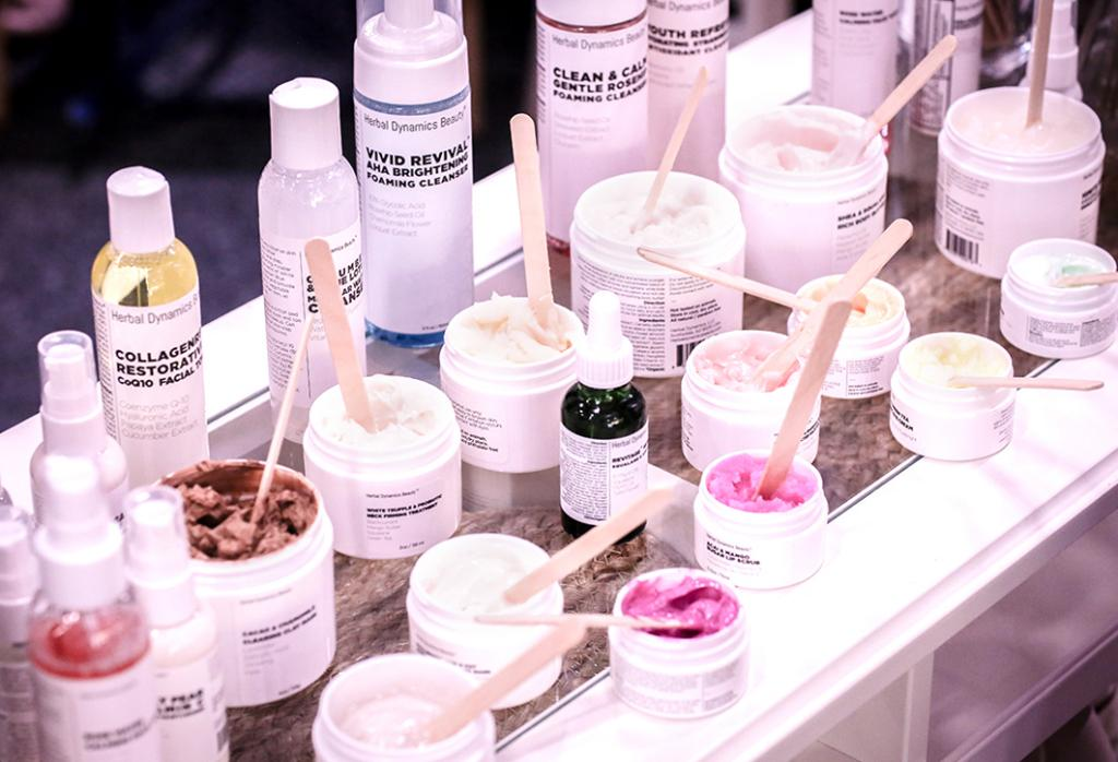 Herbal Dynamics has an aggressive direct-to-consumer sales strategy, both in adding more SKUs to an already robust line of 20 products and its double-digital approach of selling on Amazon and its own website. (IBE NY 2018 Biggest Beauty Trends)