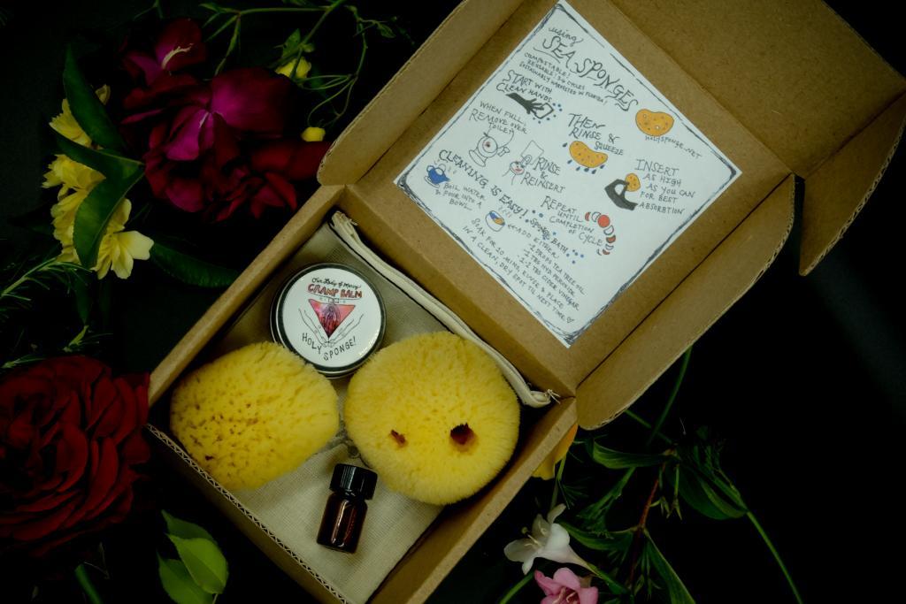 Holy Sponge! menstrual products