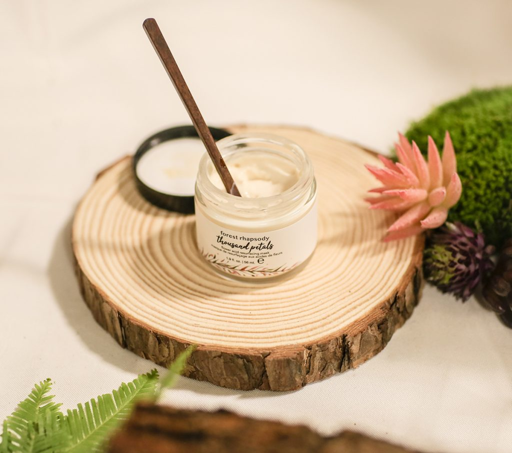 Emerging brands in pursuit of clean ideals keep making technological advances and new discoveries. Forest Rhapsody has harnessed gentle actives from flowers, such as the pyruvic acid derived from the chalices of hibiscus blooms.(Big-Time Beauty Trends At IBE LA)