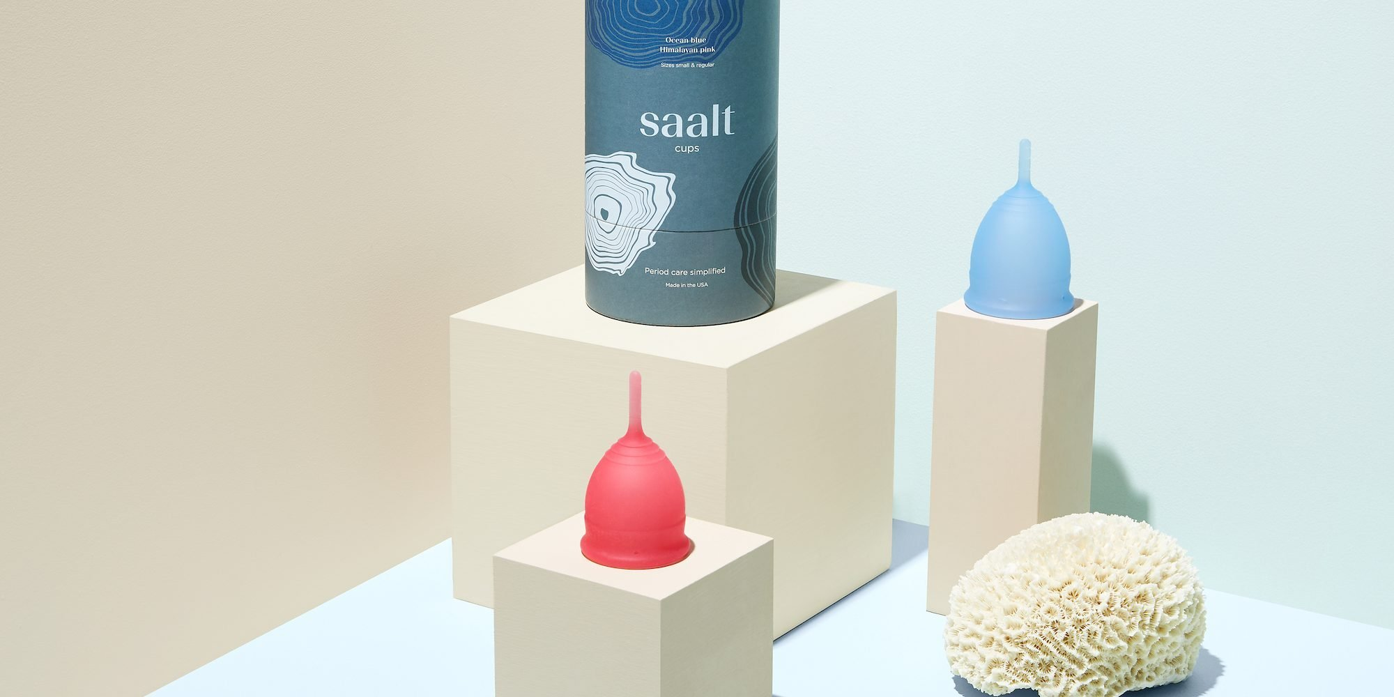 Revolve Branches Into Sustainable Period Products With The Launch Of Saalt Menstrual Cups