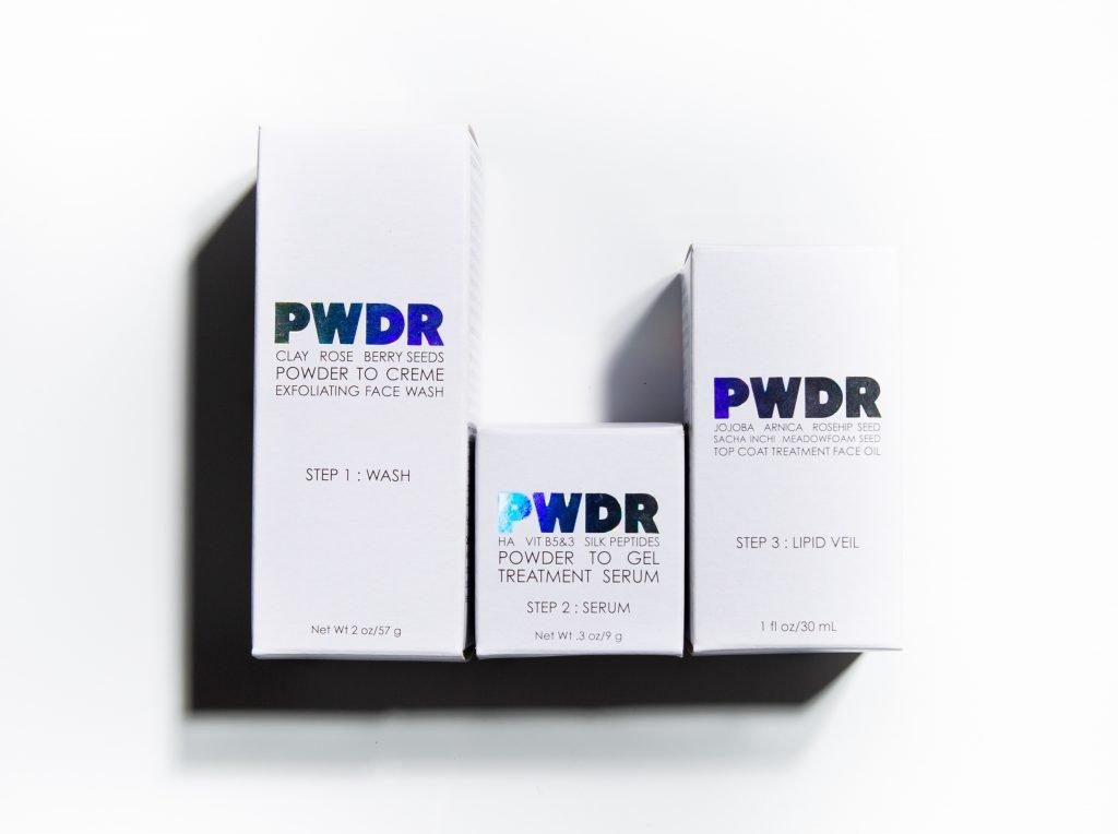 PWDR waterless beauty brand