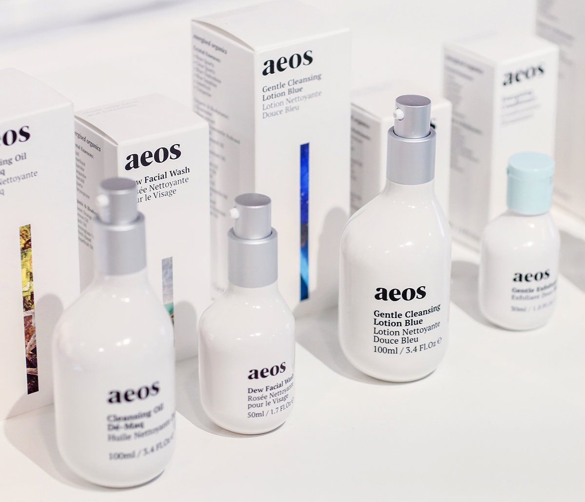 Clean, cruelty-free and crystal-tincture infused skincare brand Aeos grows many of the ingredients it puts in its products on a 500-acre biodynamic farm in Lincolnshire.(The Biggest Beauty Trends From The First IBE Berlin)