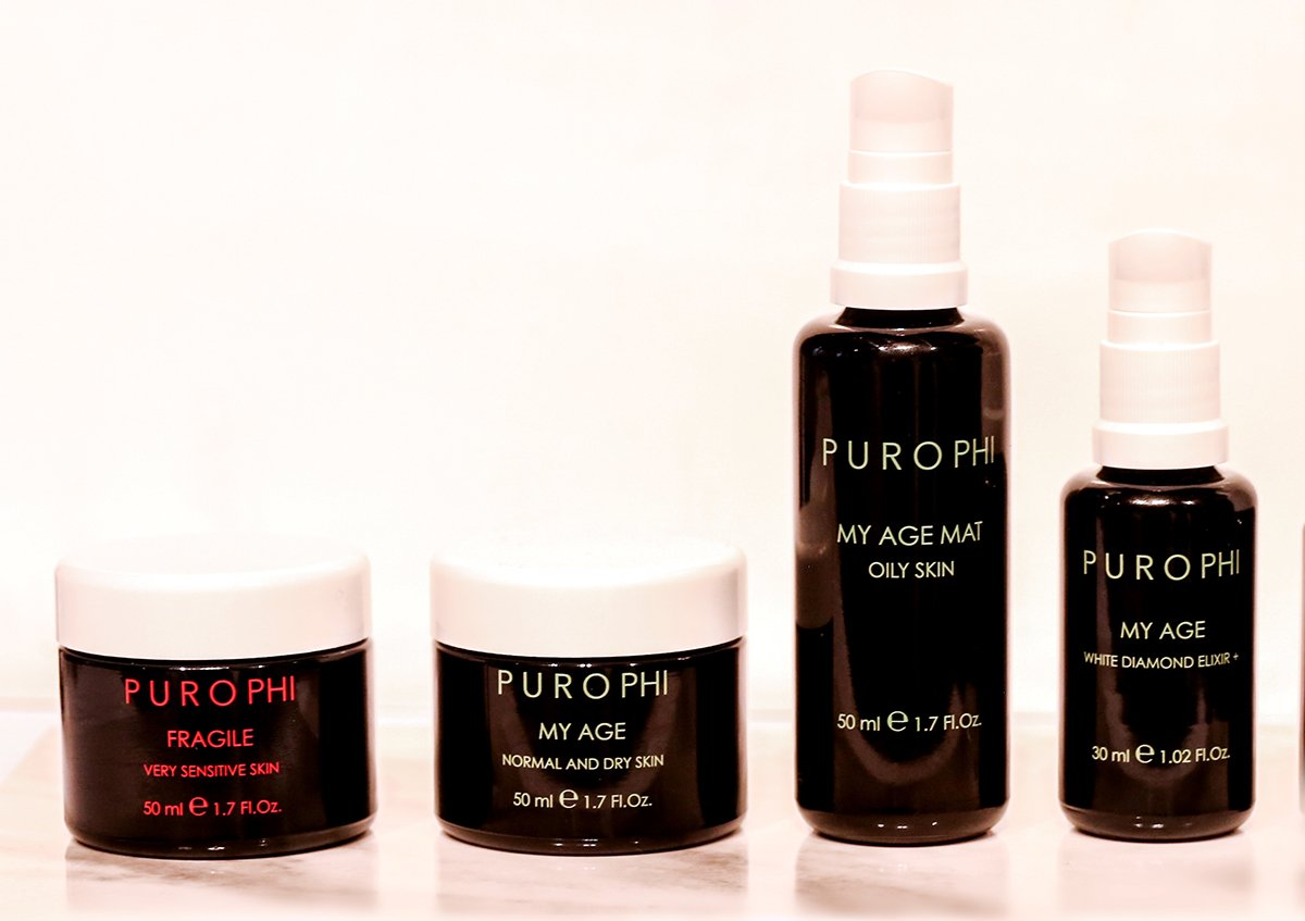 Purophi's White Diamond Elixir + contains a blend of 10 natural active ingredients such as sugars, mushrooms, plants, flowers and fruits as well as a whitening action to combat photoaging and irregular pigmentation. It retails for 79 Euros for 30 ml.(The Biggest Beauty Trends From The First IBE Berlin)