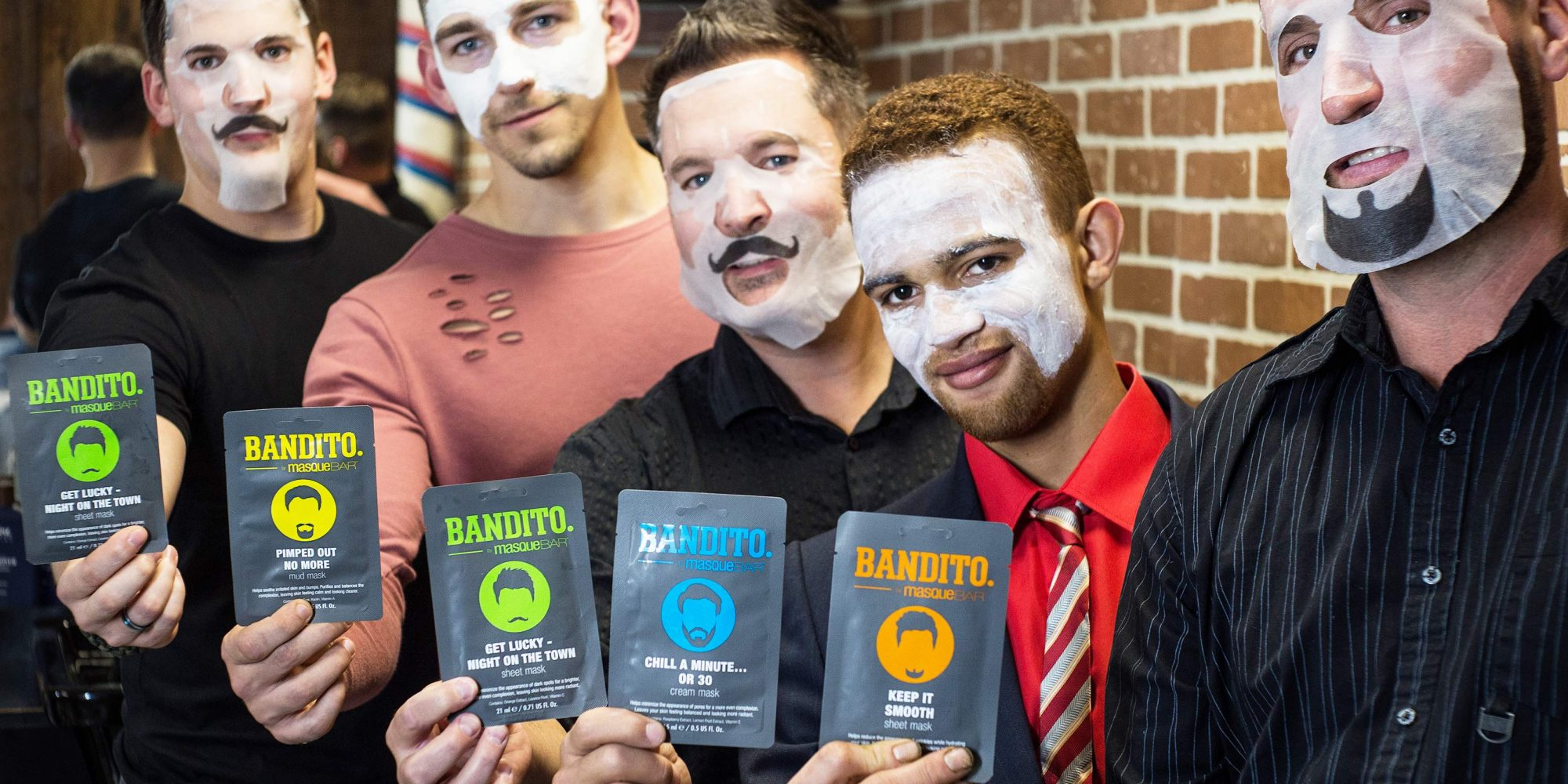 The Men's Market Looks Downright Glowy (Hint: Male Face Masking Is Involved)