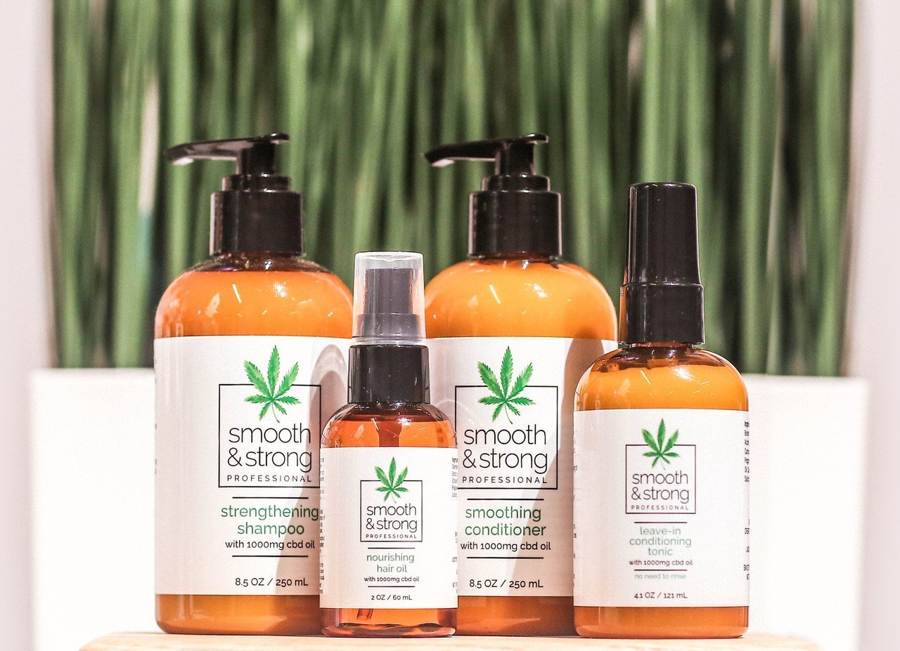 Brands investing in CBD products see proper (read strong) dosing as a point of differentiation in the market. With a foothold in the hair salon channel, the UK-based Label.m Professional Haircare saturated its Smooth&Strong product line with enough CBD to have an appreciable effect during the short wash-rinse-and-repeat cycles at most salons. (Top Emerging Beauty Trends From IBE Dallas 2019)