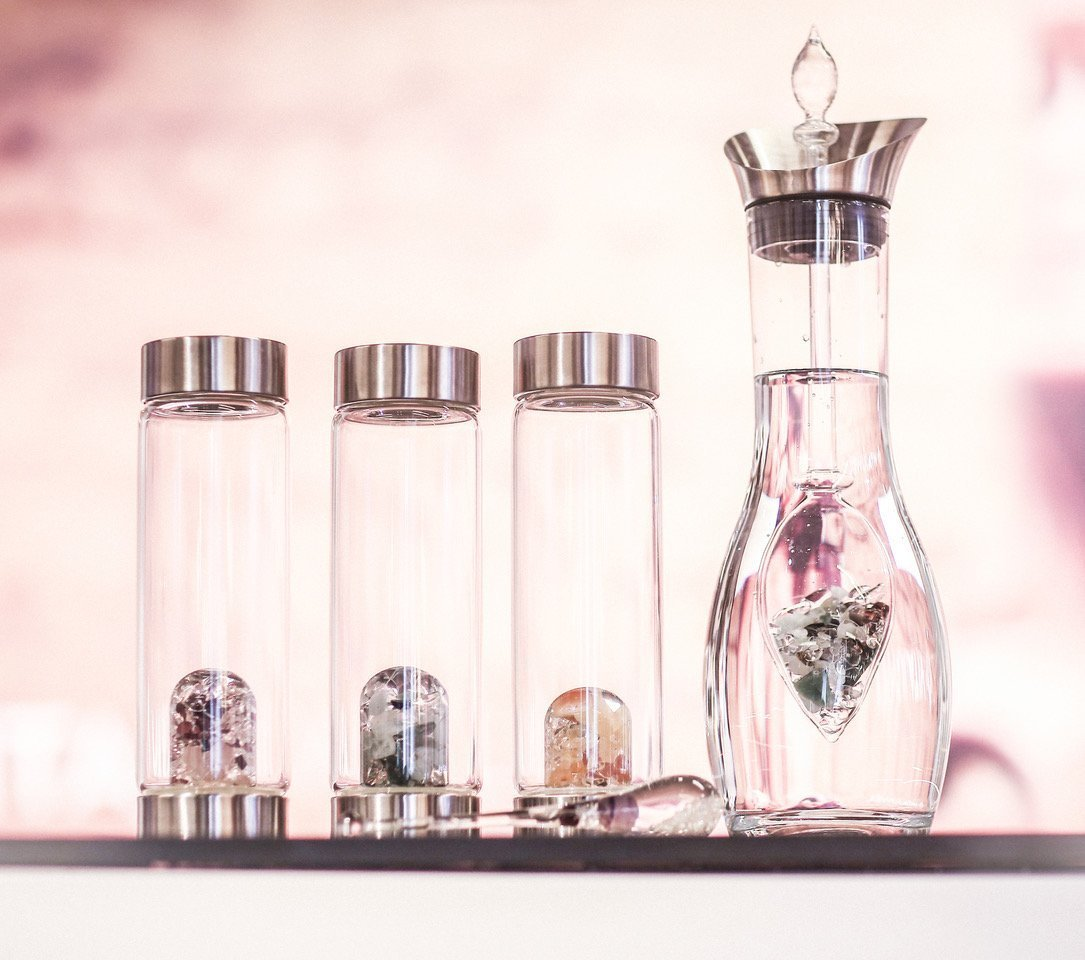 Belief in the power of diamonds and gems has touched many corners of the beauty universe, and German-based VitaJuwel has invigorated the source of all hydration with its gem water bottles. The richly-designed, and expensive, glass containers are the perfect antidote to anxiety-provoking disposable plastics. (Top Emerging Beauty Trends From IBE Dallas 2019)