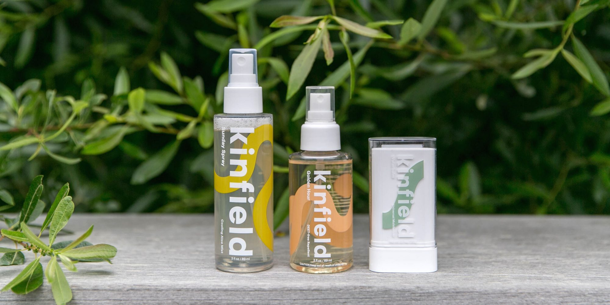 Venture-Backed Brand Kinfield Launches With Personal Care Products Designed To Elevate Outdoor Excursions