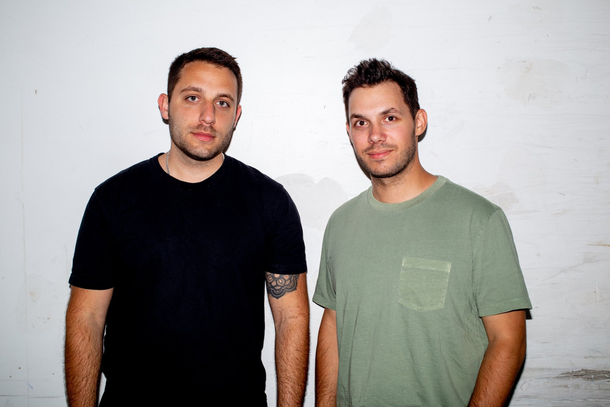 Wave co-founders Mason Levey, Brad Warsh