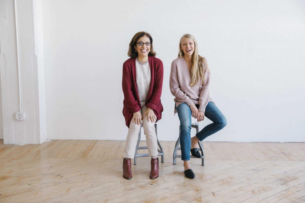 NakedPoppy co-founders Jaleh Bisharat and Kimberly Shenk