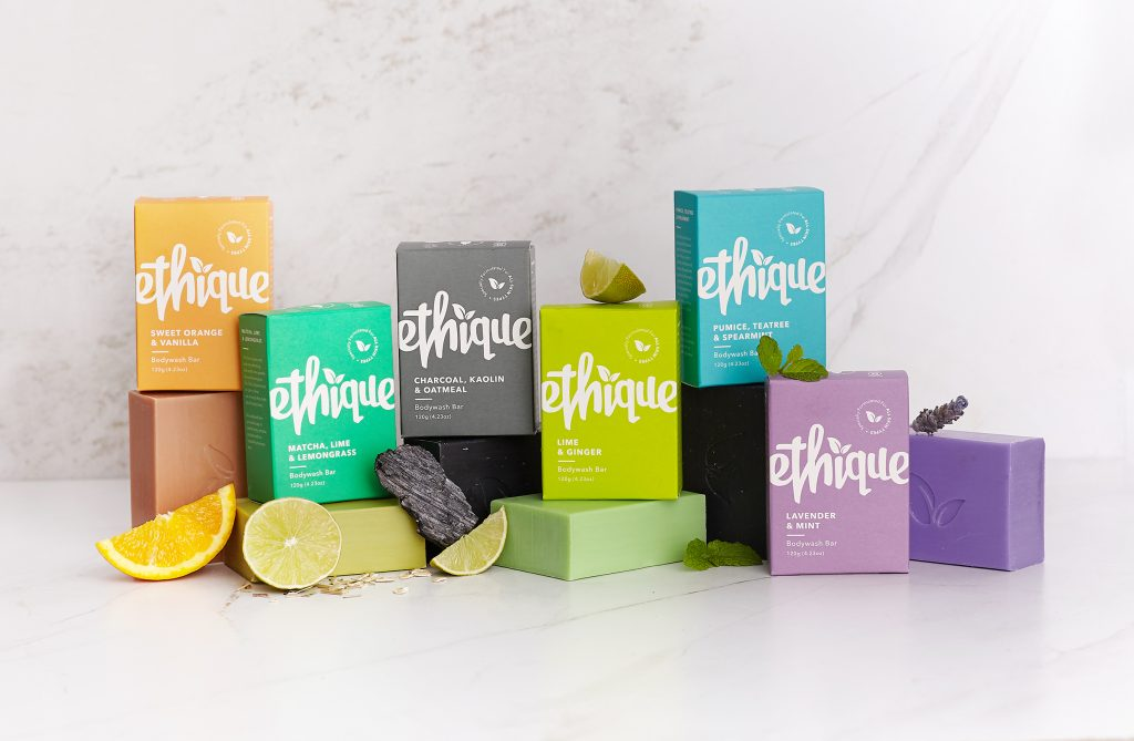 Ethique recently landed in around 50 stores at Target in the United States and 840 stores at Holland & Barrett in the United Kingdom.