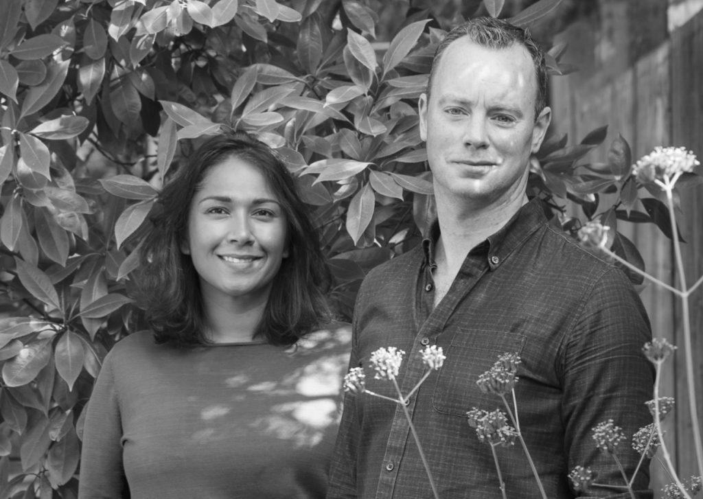 Five Dot Botanics co-founders Zaffrin and Brian O'Sullivan