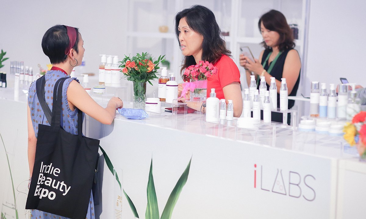 Product manufacturer iLabs commanded attention for its creative chemistry and state of the art facility with an immaculate exhibition space and a day one presentation.