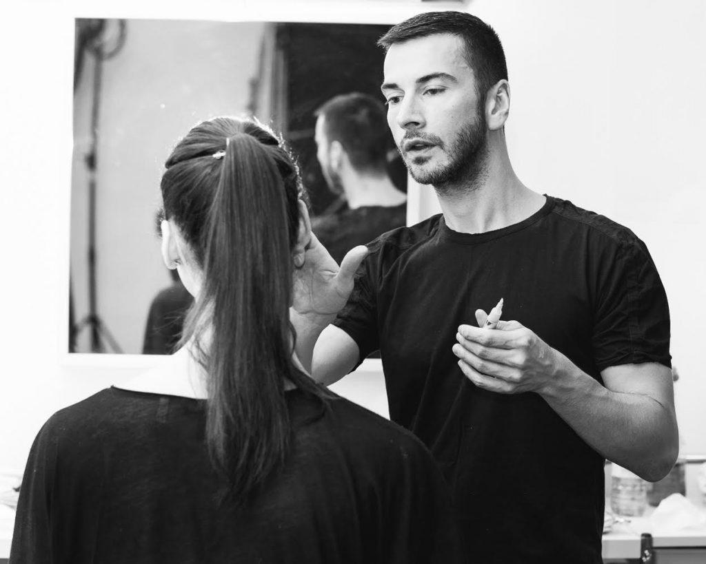 Veil Cosmetics co-founder Sebastien Tardif