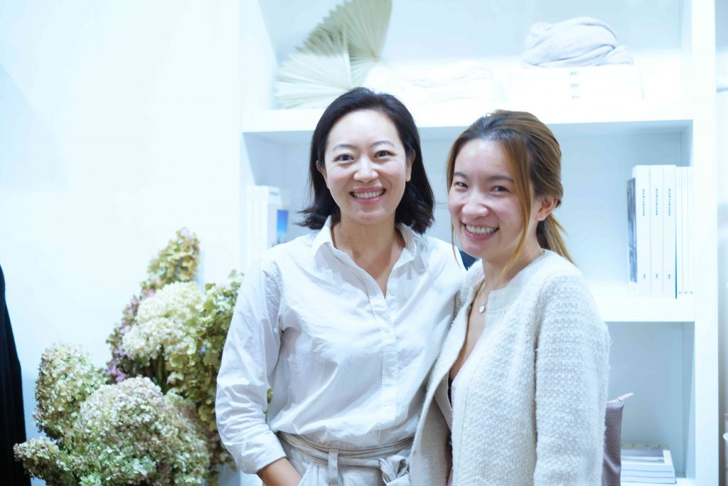 Hero Cosmetics founder Ju Rhyu and Sundays founder Amy Ling Lin