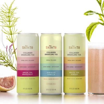 Collagen Sparkling Tea Brand SkinTe Pulls In $3M From Sara Blakely, Karlie Kloss, Diane Von Furstenberg And More