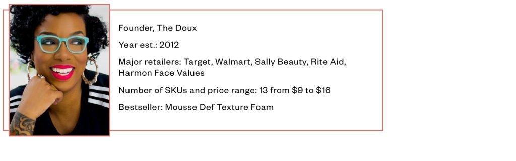 Maya Smith, The Doux, Mousse Def Texture Foam