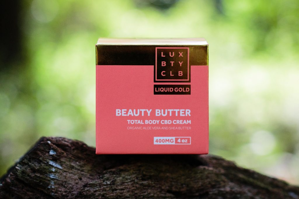 Lux Beauty Club's CBD-infused Beauty Butter