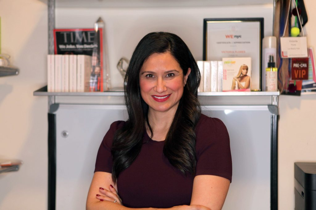 Lux Beauty Club co-founder Victoria Flores