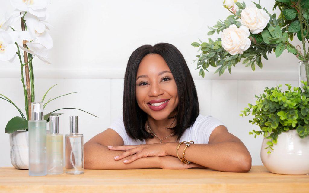 Gloryscent founder Rafaela Gonzalez