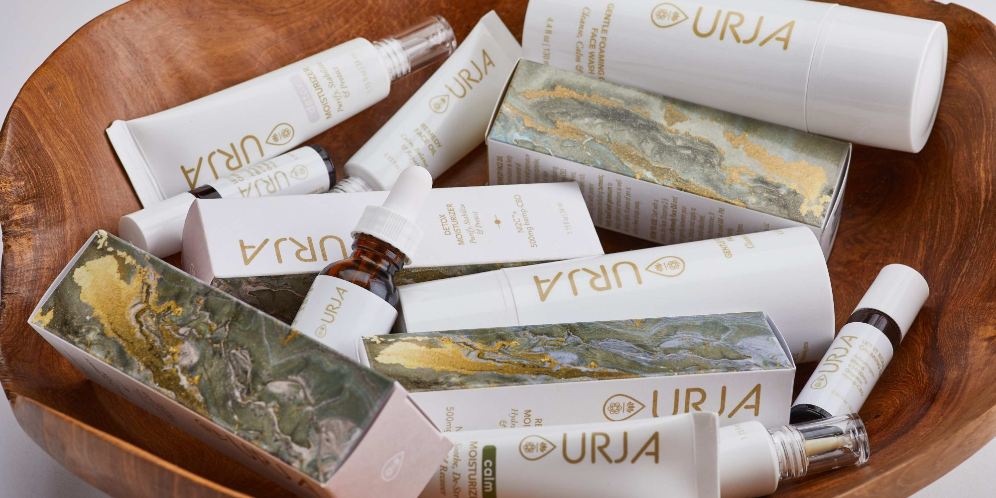 Created By Beauty Industry Veterans, New Skincare Brand Urja Has CBD And So Much More