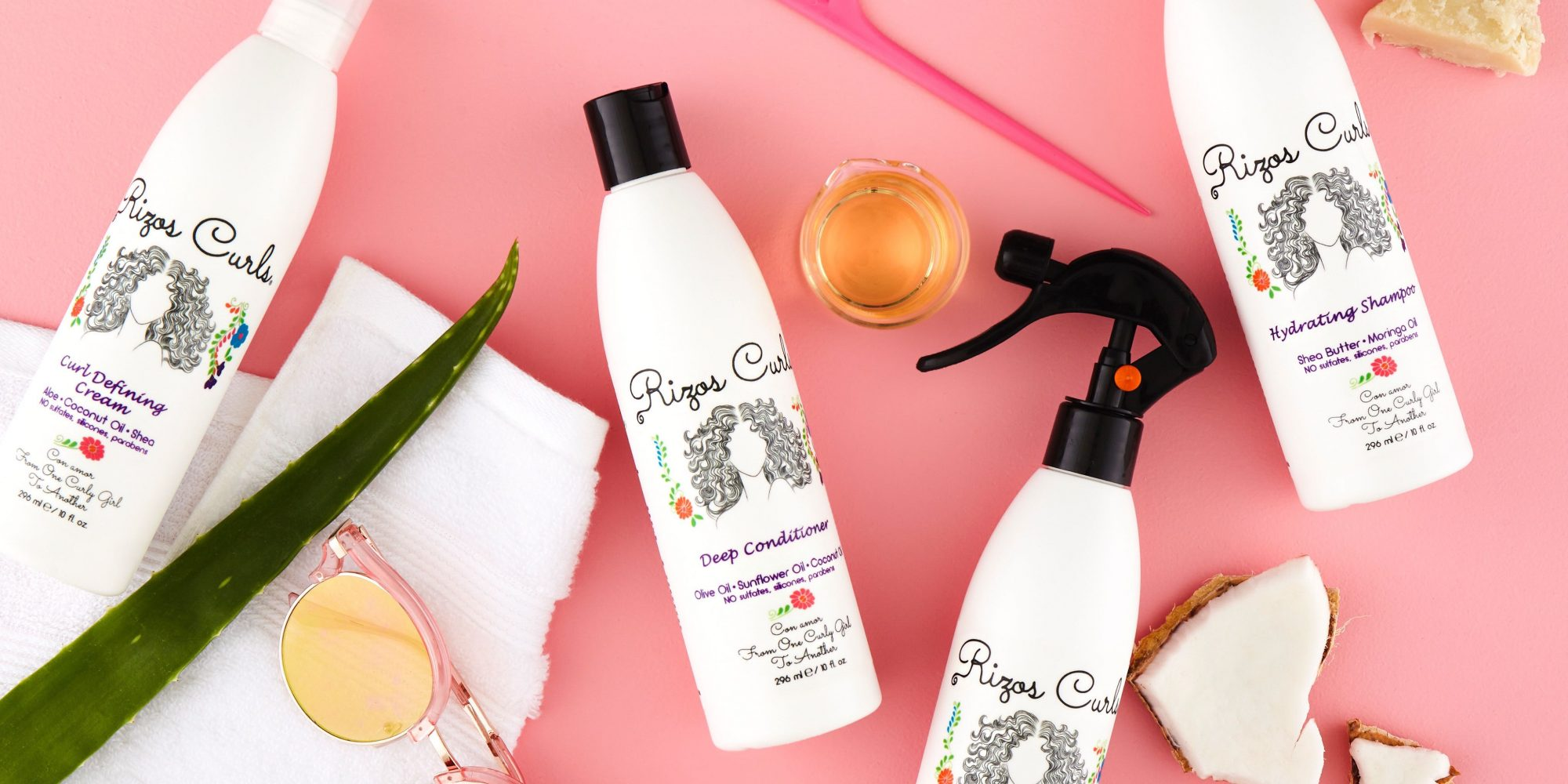 Self-Funded, Latina-Owned Haircare Brand Rizos Curls Hits Target Shelves
