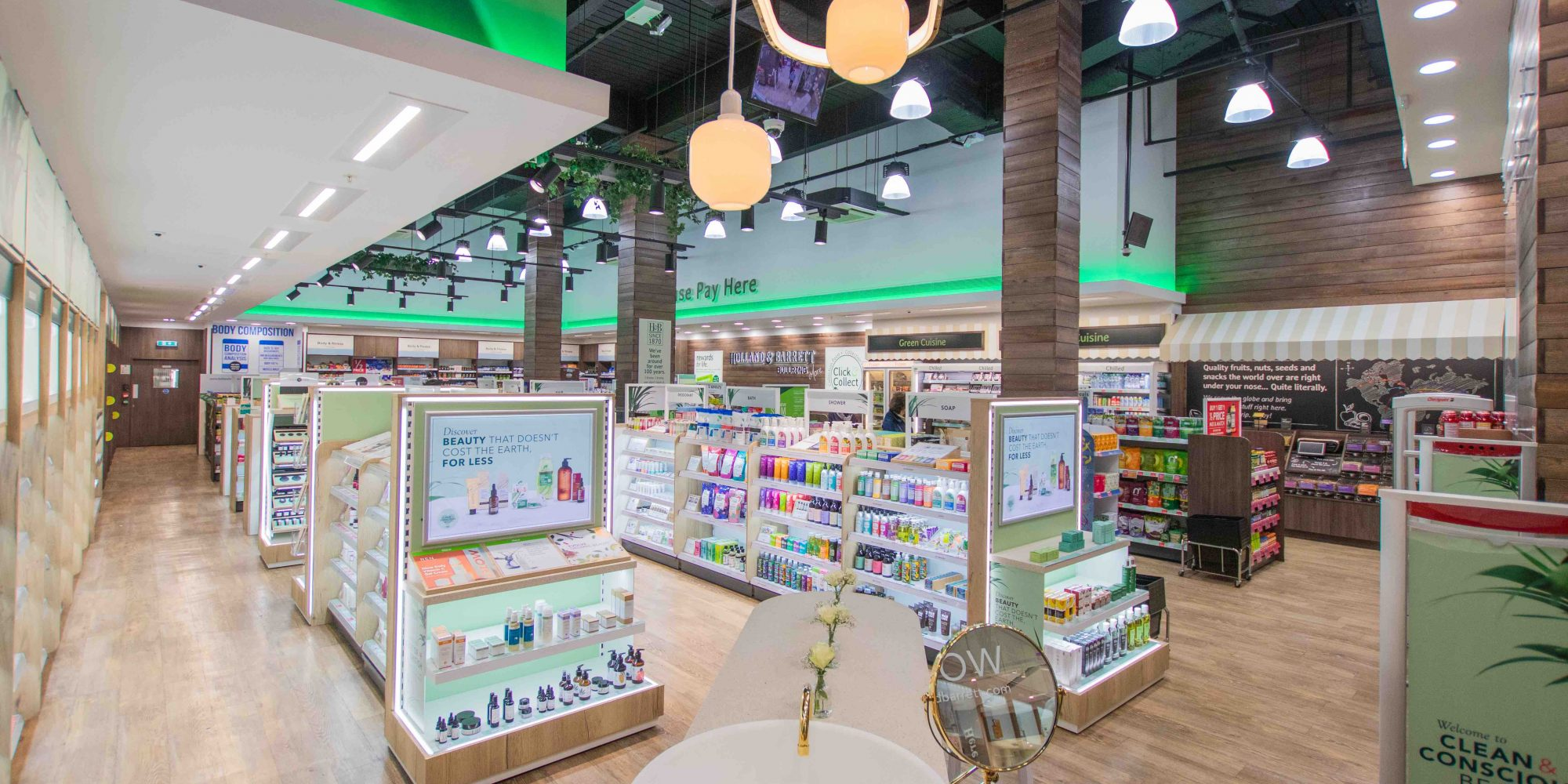 Health And Wellness Chain Holland & Barrett Opens Clean Beauty Store In Birmingham