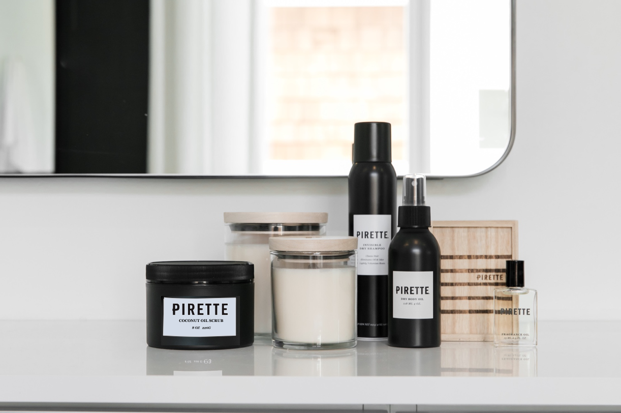 Pirette's Products Offer Beachy Escapes To Cooped-Up Consumers
